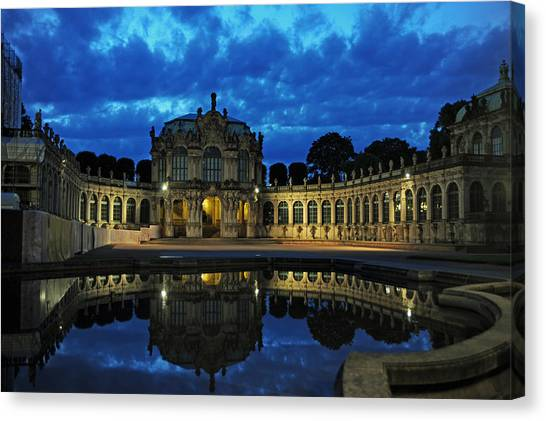 Zwinger Dresden Germany Canvas Print