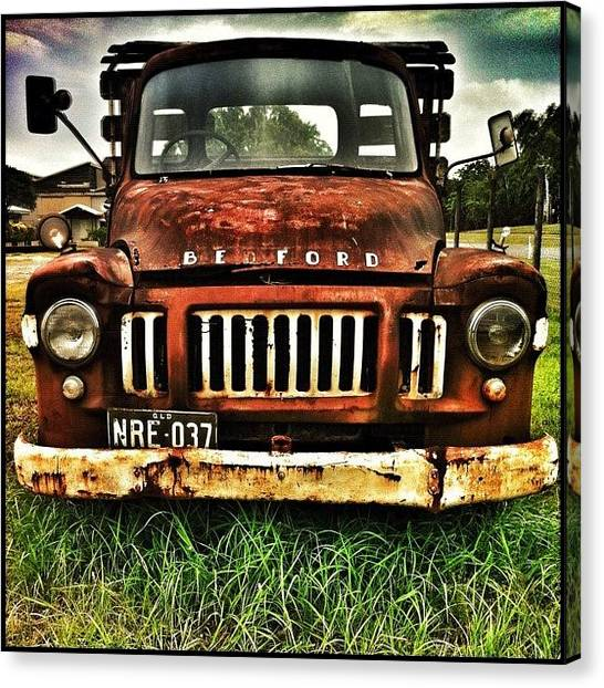 Ford Canvas Print - ... A Be Ford Truck (or Lorry Where I by Brian Cassey