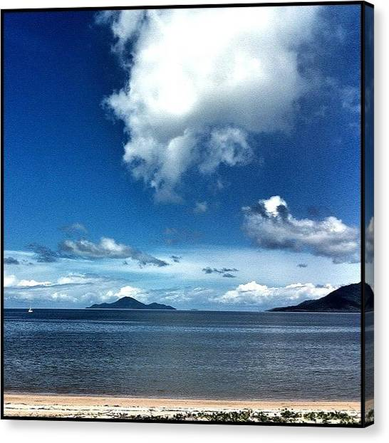 Hurricanes Canvas Print - ... At This Time A Year Ago Cardwell by Brian Cassey