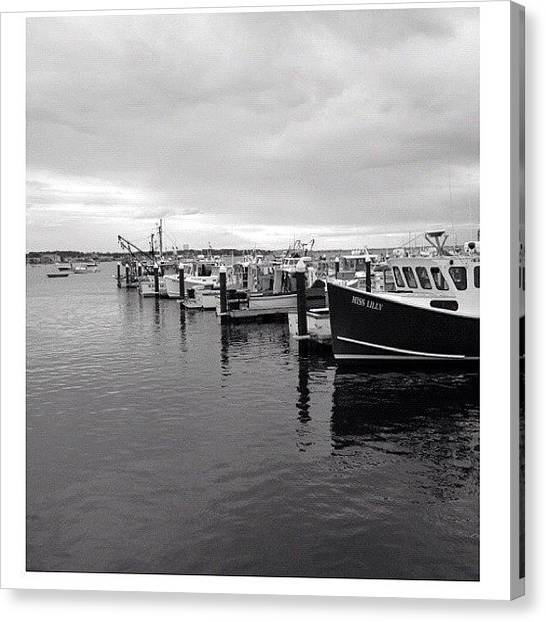 Sailboats Canvas Print - 🚢🚤 #boats #capecod #summer by Marisag ☀✌