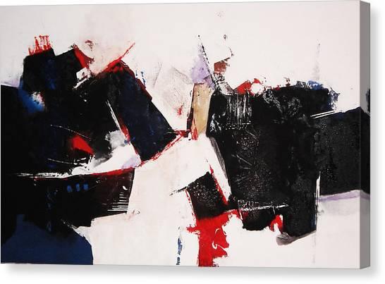 Burst Canvas Print by Mohamed KHASSIF