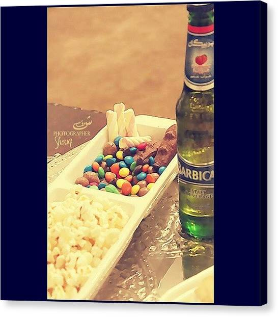 Popcorn Canvas Print - ♥♥♥♥ By My Canon ! by Shooq Alkaabi