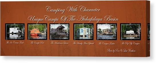 Camps Of The Atchafalaya Basin Canvas Print