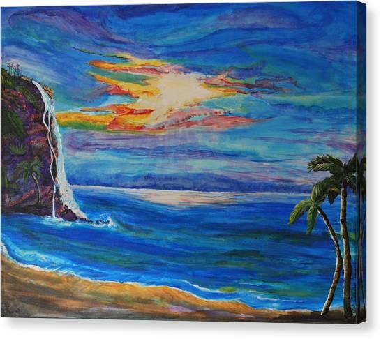 Finding Peace Again Canvas Print by Tifanee  Petaja