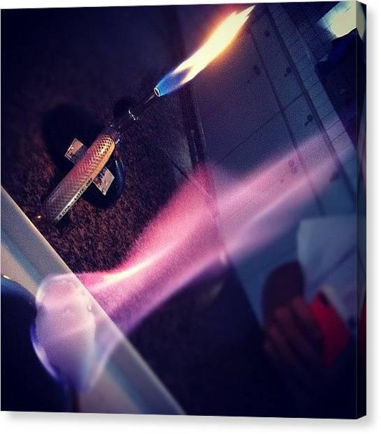 Fireworks Canvas Print -  #fire #cool #purple #lol by Mayara Monteiro