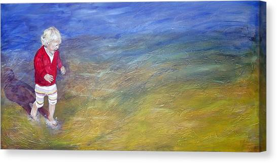 Free Spirit Canvas Print by Peter Edward Green
