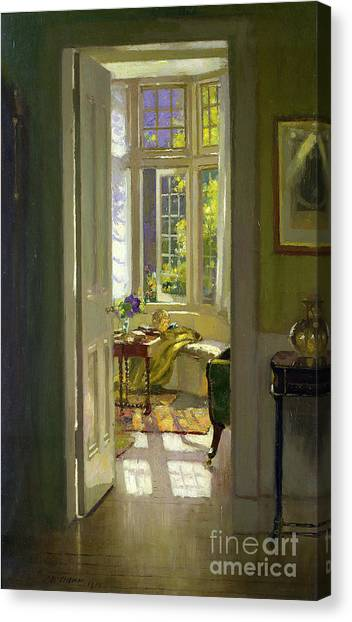 Rays Open Canvas Print -  Interior Morning  by Patrick Williams Adam