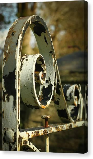Iron Gate Canvas Print by Jacqui Collett