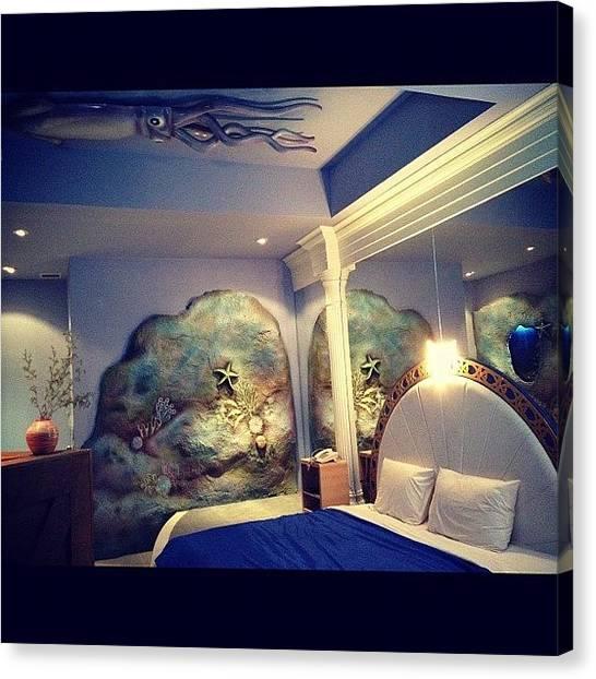Underwater Canvas Print - 🌊 My Dream 🐚 Bedroom 🌾 😌 by Nancy Nancy