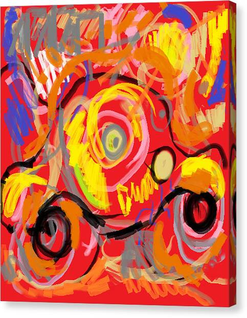 My Jalopy Canvas Print
