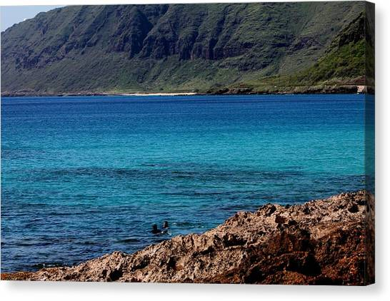 Relaxing On Oahu Canvas Print