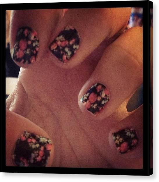Skin Canvas Print - 🌷 Skins #nailskins #skins #nails by Myrtali Petrocheilou