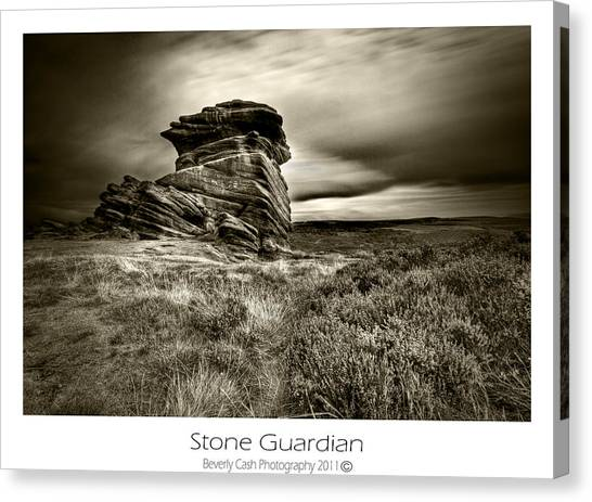 Stone Guardian Canvas Print