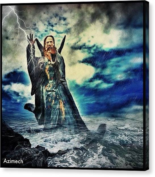 Lightning Canvas Print - 💢 The Ideas That Have Lighted My Way by John Carter