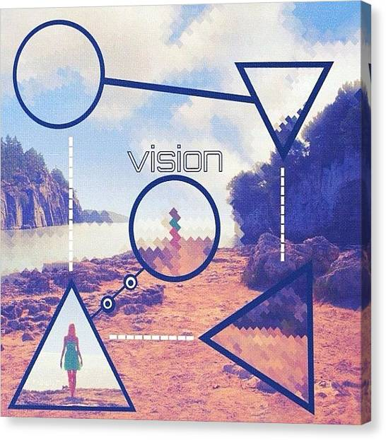 Princess Canvas Print - || Vision || Sometimes It May Seem Like by William Blucher
