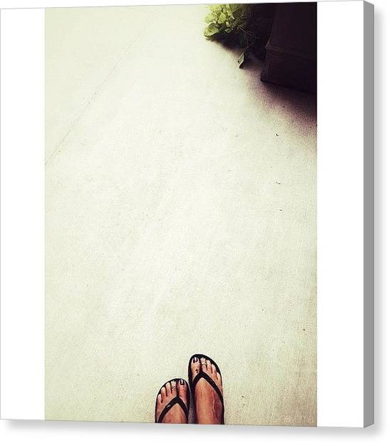Feet Canvas Print - ... Waiting by Natasha Marco