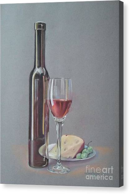 Wine Canvas Print by Ahto Laadoga