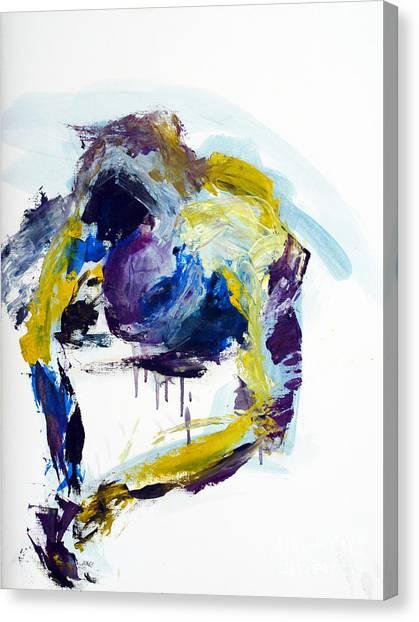 04086 Slippery Fish Canvas Print