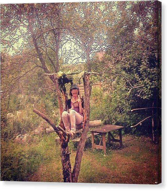 Orchard Canvas Print - #читальня на сухой by Alexandra Cook