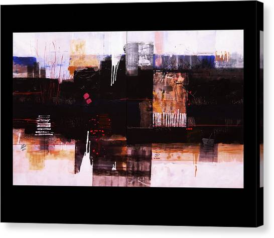 Diptyc Canvas Print by Mohamed KHASSIF