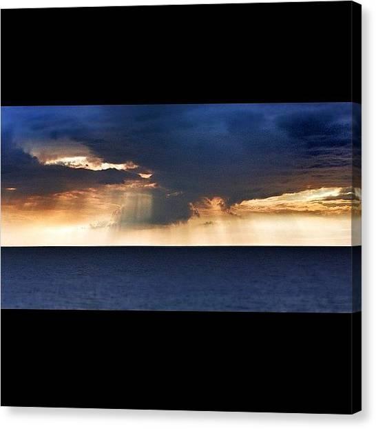 Ocean Sunrises Canvas Print -  by Emilio Alfieri