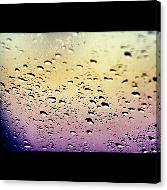 Stoplights Canvas Print -  by Vanessa Saccone