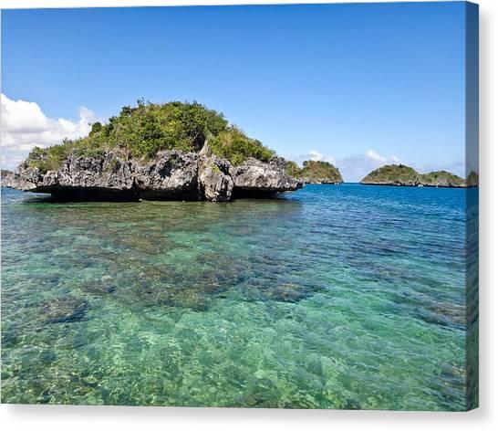 100 Islands National Park Canvas Print