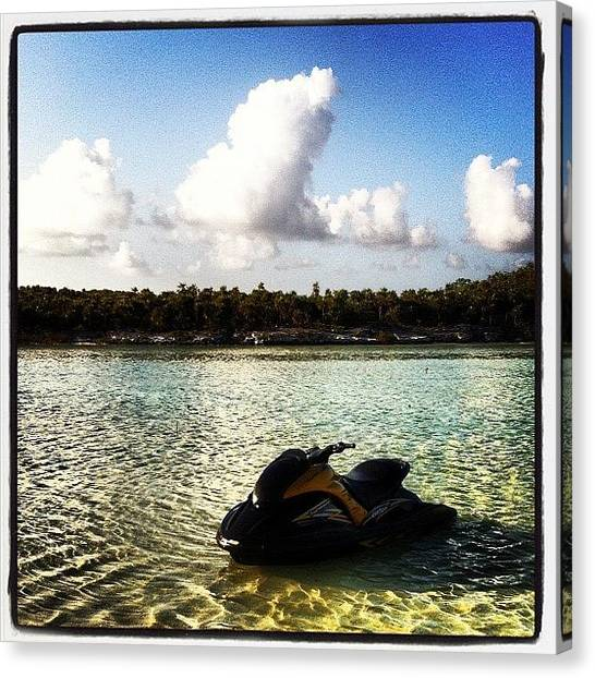 Bahamas Canvas Print - #10likes #20likes #cool #chillin by Moises  Shemaria