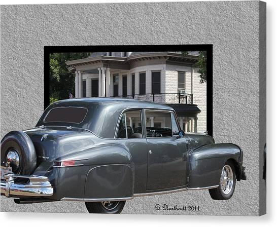 1947 Lincoln Continental Coupe Canvas Print