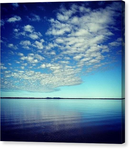 Everglades Canvas Print - 30/06/2012 #lakecootharaba #noosariver by Tony Keim