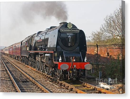 6233 Duchess Of Sutherland Canvas Print