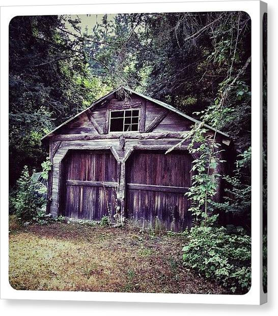 Barns Canvas Print - Abandoned by Natasha Marco
