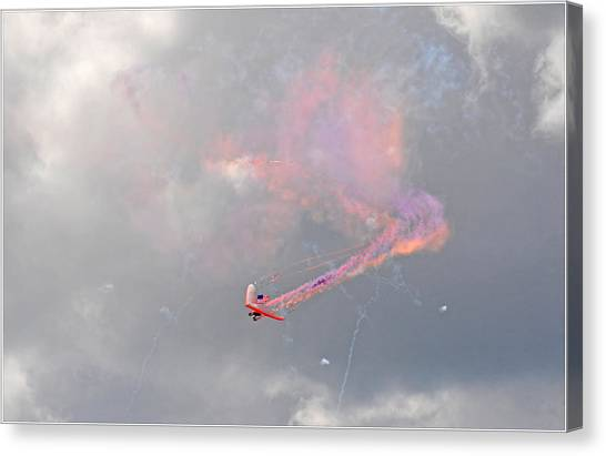 Aerobatics Canvas Print