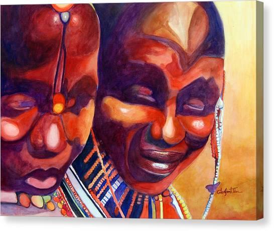 African Queens Canvas Print