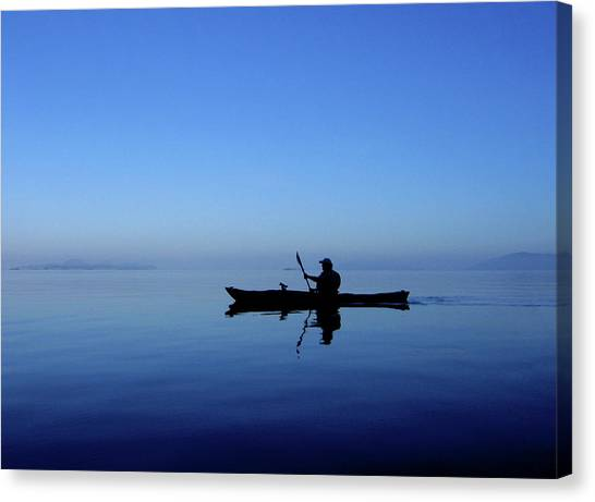 Serenity Surrounds Canvas Print