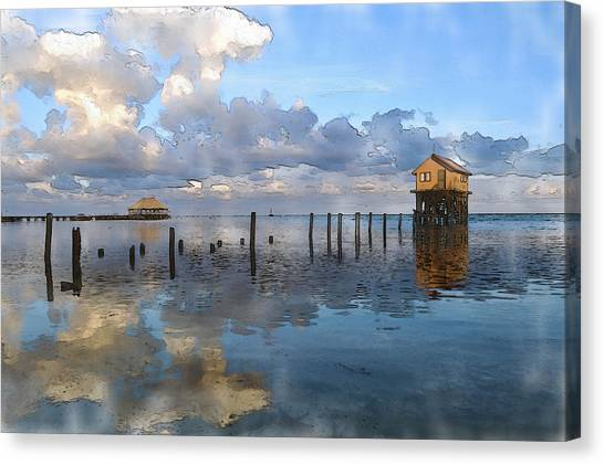 Ambergris Caye Belize Canvas Print