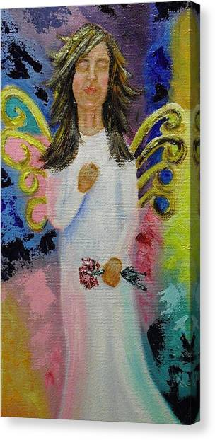 Angel Canvas Print by Melissa Torres
