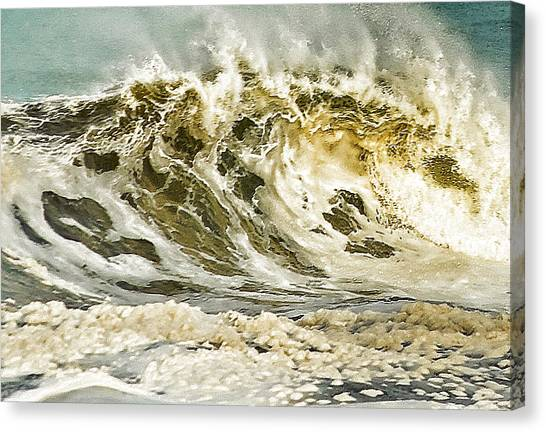 Angry Sea 3 Canvas Print