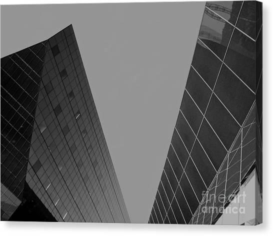 Architectonics Canvas Print - Archetectronics No 6 by Maureen J Haldeman