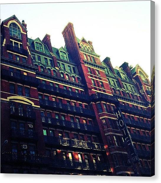Hotels Canvas Print - Architectural Beauty by Natasha Marco