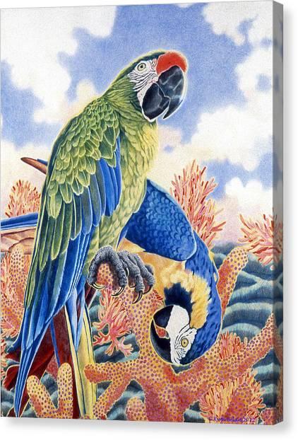 Astarte's Paradise II Canvas Print