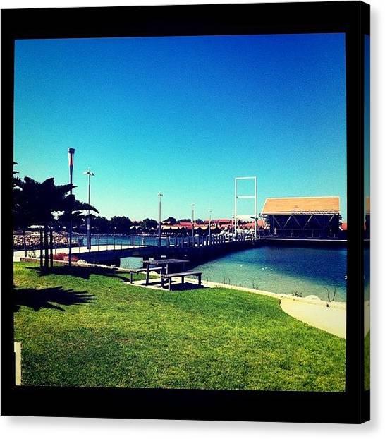 Harbors Canvas Print - #australia #westernaustralia by Kirk Roberts