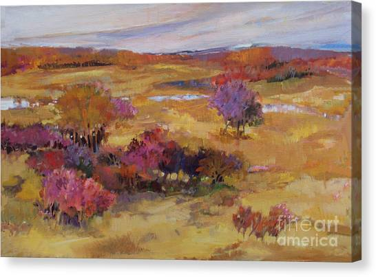 Autumn Land Canvas Print