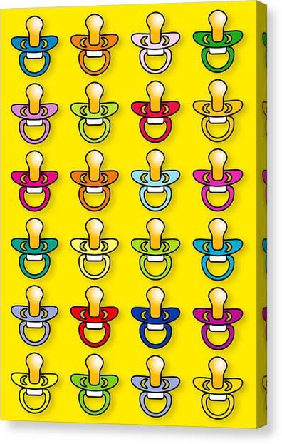 Babies' Dummies Canvas Print by David Nicholls