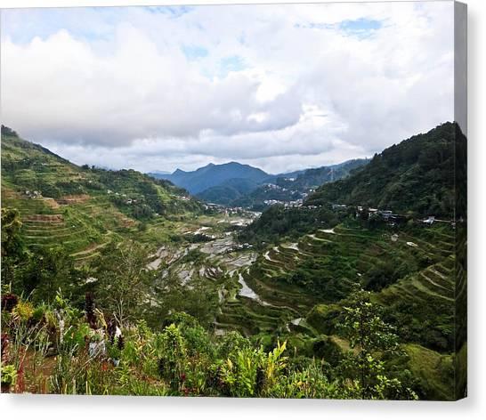Banaue Rice Terraces Canvas Print