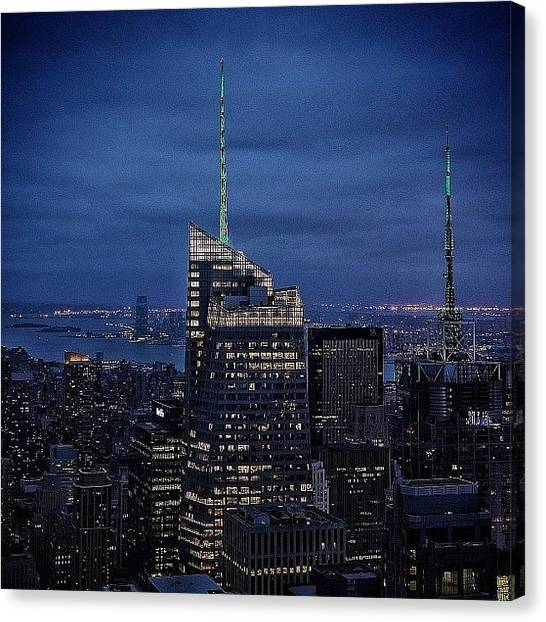 Instago Canvas Print - Bank Of America Tower - Ny by Joel Lopez