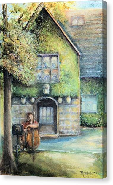 Bass Fiddle At Ford Gala I Canvas Print