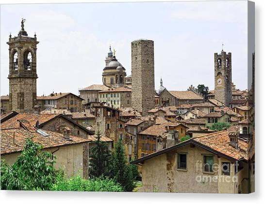 Bergamo Alta Canvas Print
