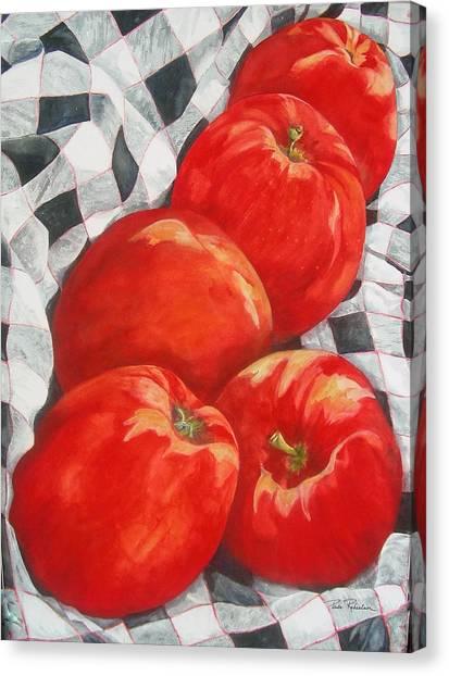 Big Reds Canvas Print