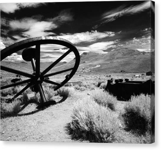 Big Wheel Bodie Canvas Print